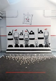 (General view) Homage to the Egyptian Revolution II, 2011.