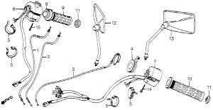 1983 Honda v45 magna wiring diagram