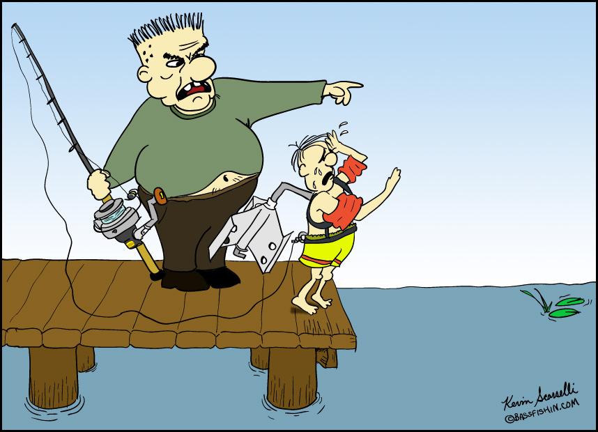 Caption It! Fishing Cartoon #6