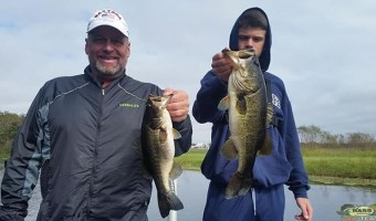 Bass Are Hitting Crank Baits On Lake Toho