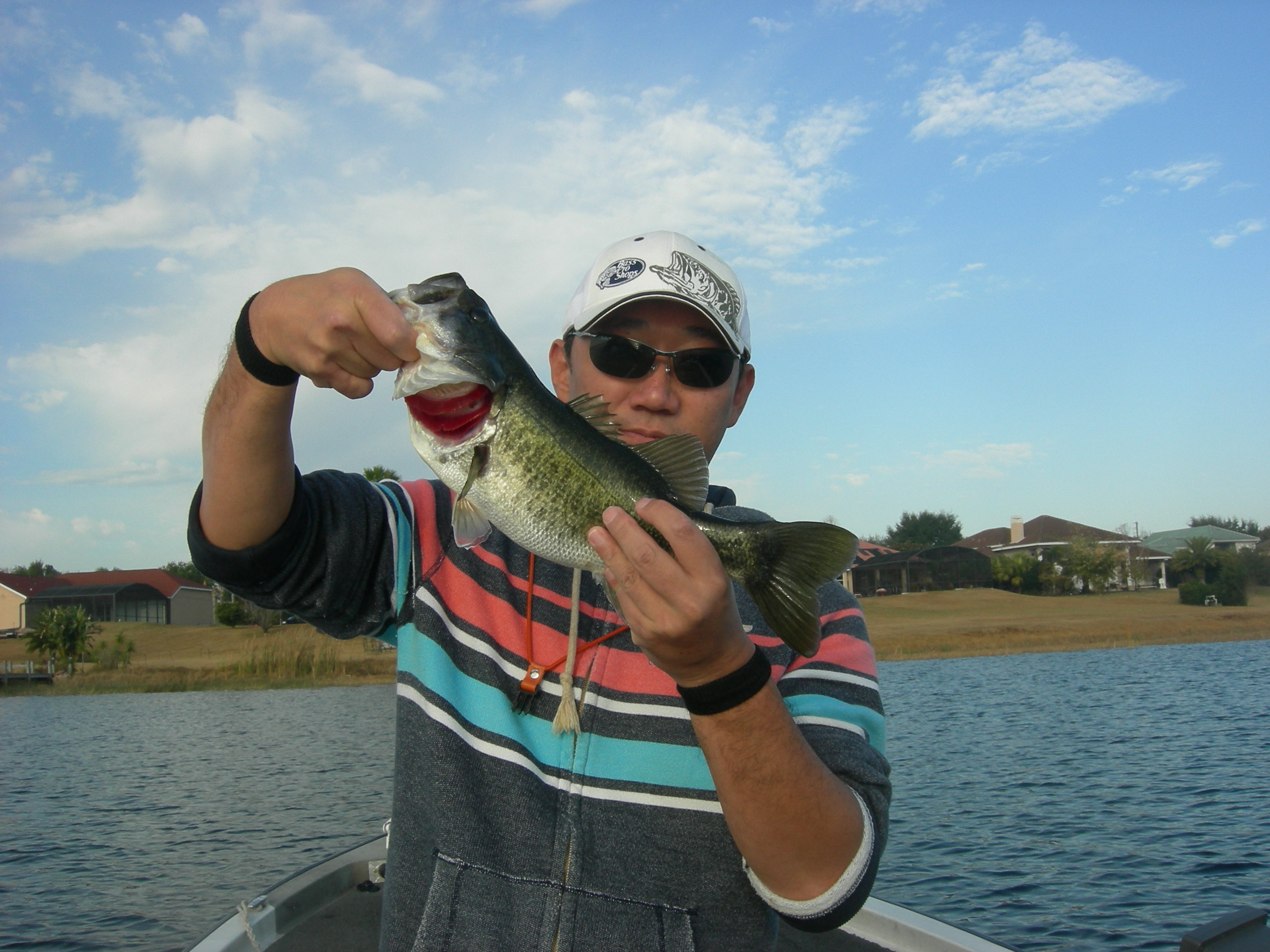 New years day fishing in orlando orlando bass fishing guide for Bass fishing orlando