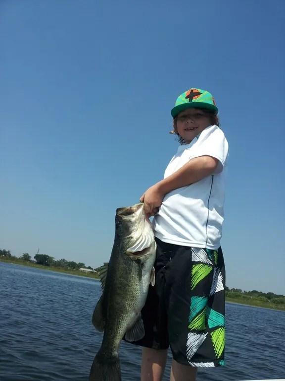 Bass fishing report for orlando florida orlando bass for Lake toho fishing guides
