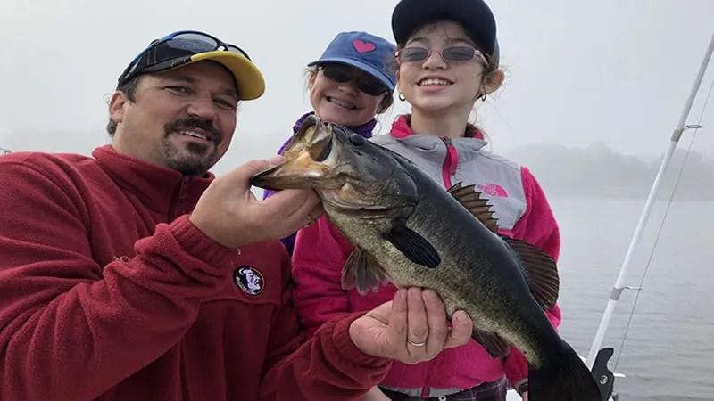 Johns Lake Big Bass Fishing