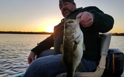 Lake Conway Shiner Fishing while Visiting Orlando Florida