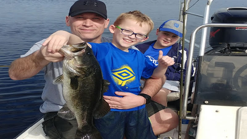 Richardsons Fish Camp Fishing in Kissimmee Florida for Bass