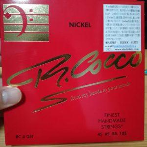 Richard Coco's bass string.