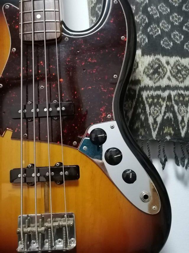 ベースやギターのつまみの種類 つまみの使い方