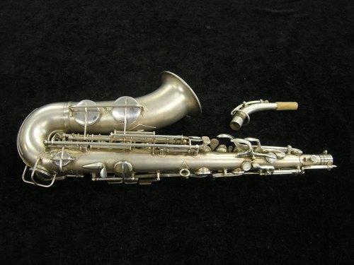 Conn F Mezzo Soprano saxophone, 24M, silver plated, vintage sax,
