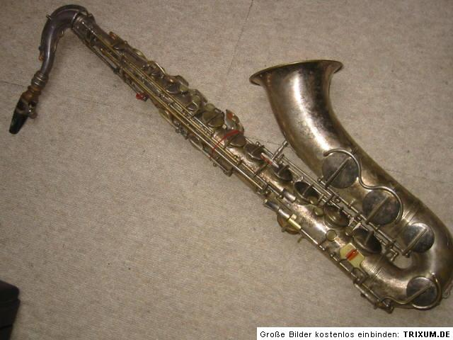 saxophone, Max Keilwerth, President tenor saxophone, vintage, German, Pure Tone Trade Mark,