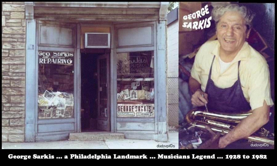 George Sarkis, store front, 108 N. 18th St, Philadelphia