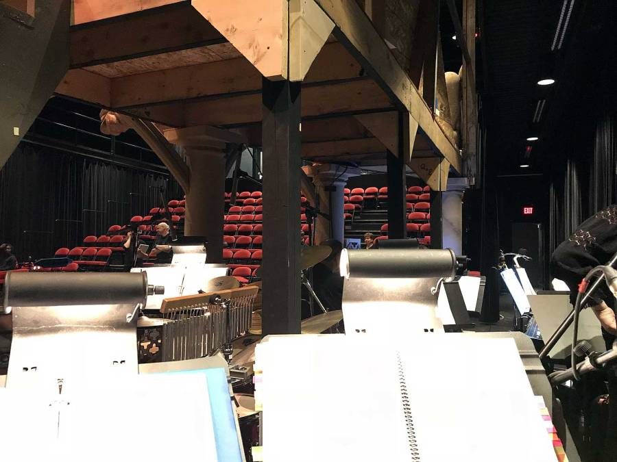 The Hunchback of Notre Dame, Chillilwack Cultural Centre, Secondary Characters, set, pit orchestra