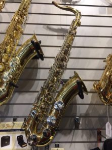 B&S blue label tenor sax