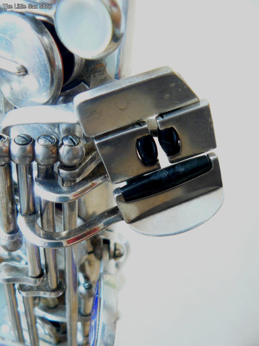 B&S blue label, alto sax, saxophone keys