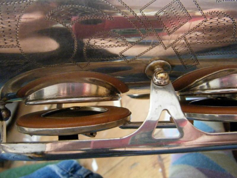rolled tone holes, Dörfler & Jörka, saxophone