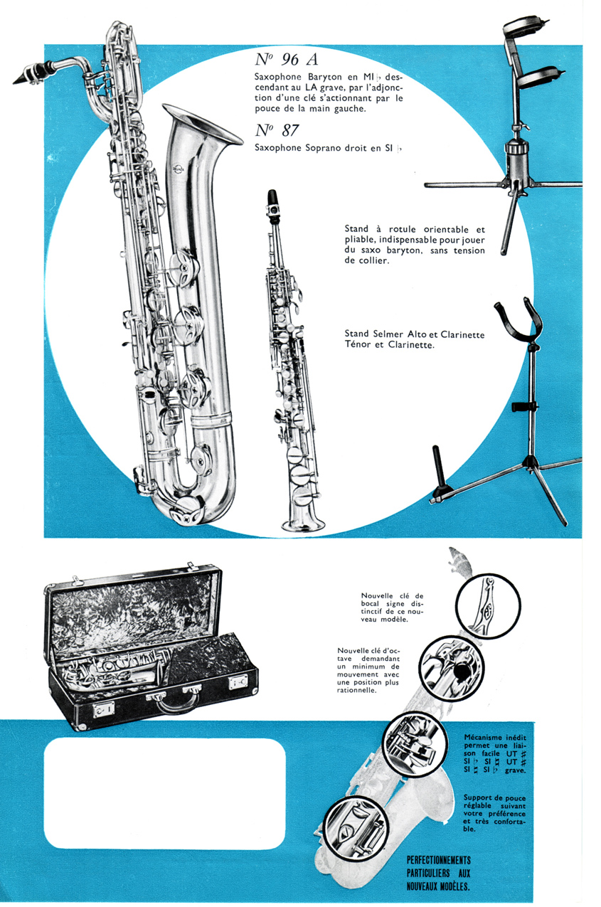 1960 SB selmer page 3 bassic sax