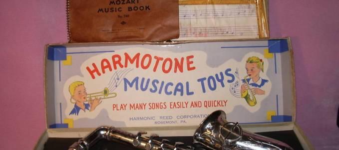 Harmotone Toy Sax