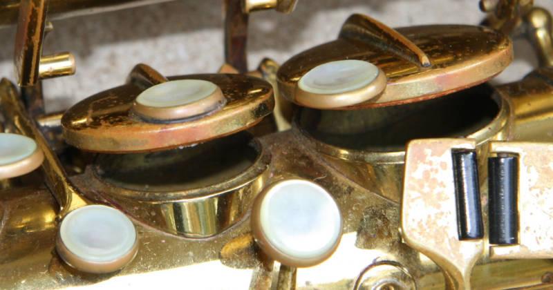 saxophone, Hohner President, tone holes, saxophone keys