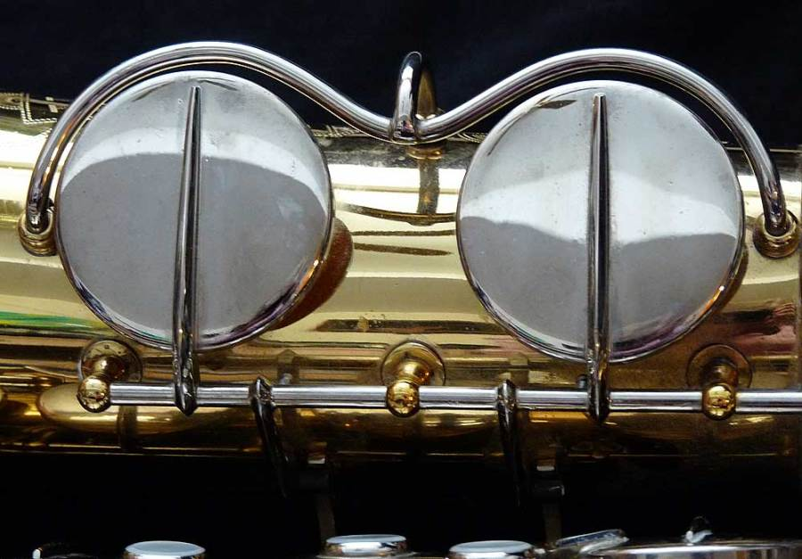 Hohner President, tenor sax, vintage sax, German sax, Max Keilwerth, saxophone, saxophone key guards, eyebrow key guards