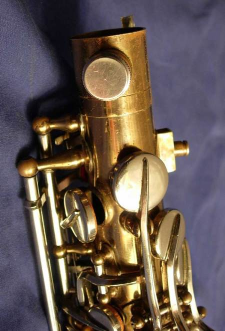 saxophone, neck tightening screw, Dörfler & Jörka