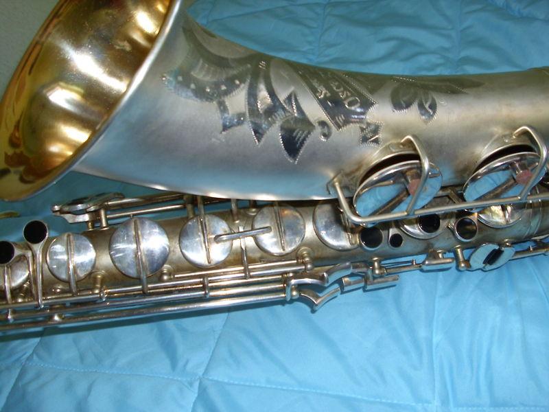 Oscar Adler tenor saxophone, vintage, German