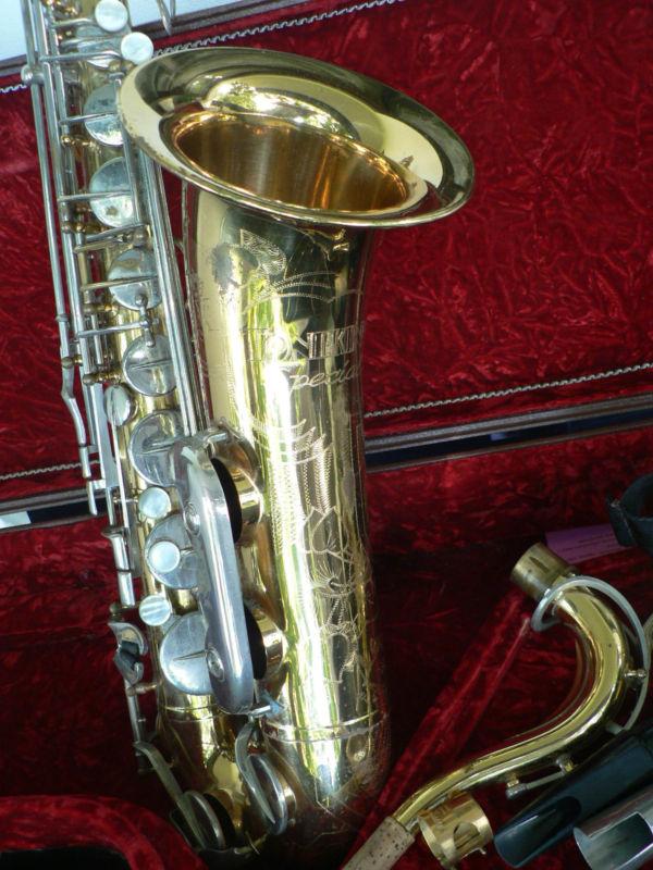 Julius Keilwerth, Toneking Special, tenor saxophone, vintage, German