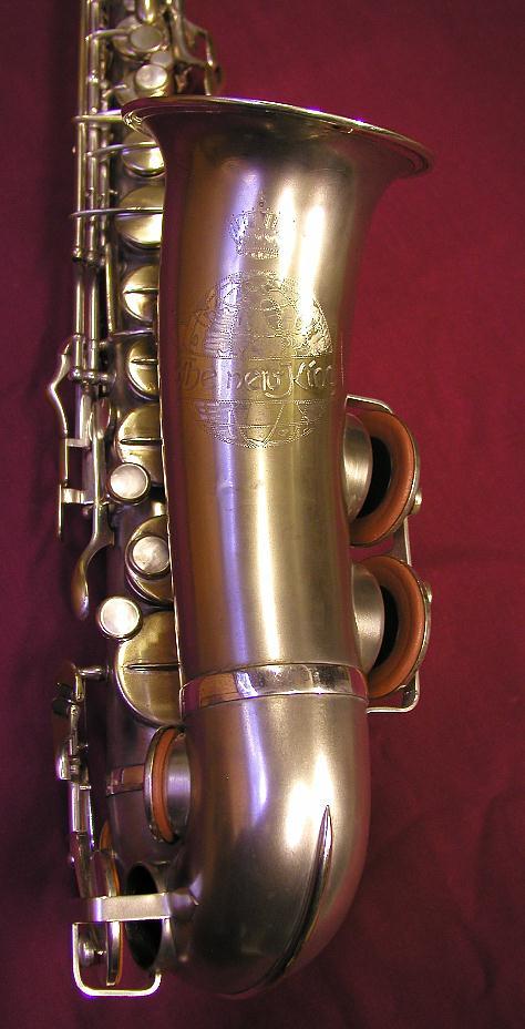 Julius Keilwerth, The New King, alto saxophone, vintage, German
