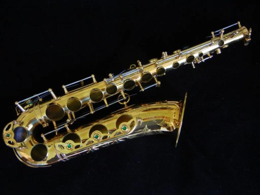 offset tone holes, Selmer Mark VI, low A alto saxophone, alto sax, saxophone body