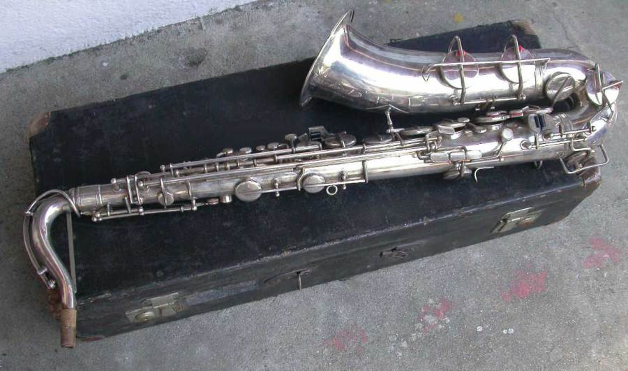 weltklang, tenor saxophone, sax case, silver plated, vintage, German Sax, DDR