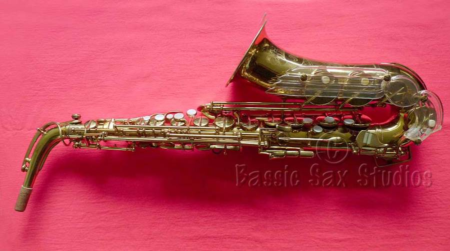 saxophone, Jubilee alto sax, Lucite angel wing, Julius Keilwerth, Toneking alto saxophone