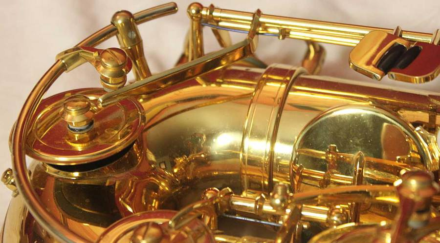 Codera Model, resoblade, low C key mechanism, B&S saxophone