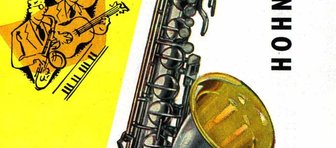 German Hohner Saxophone Brochure