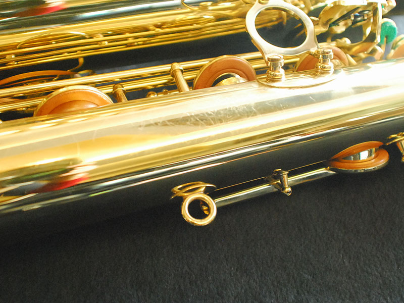 strap ring, lacquer saxophone, bell to body support ring