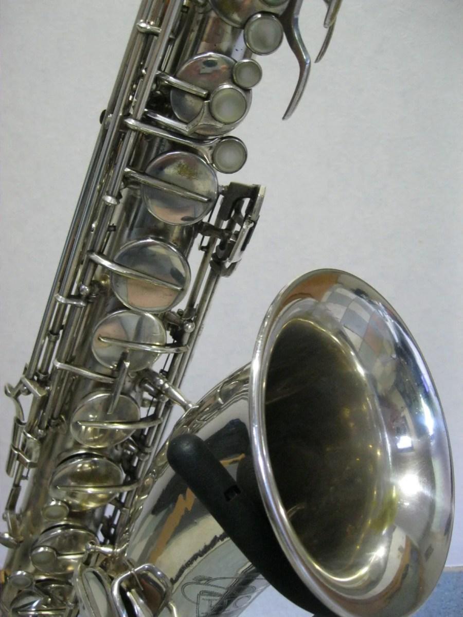 Hohner President, tenor sax, vintage sax, German sax, Max Keilwerth, saxophone, silver-plated sax