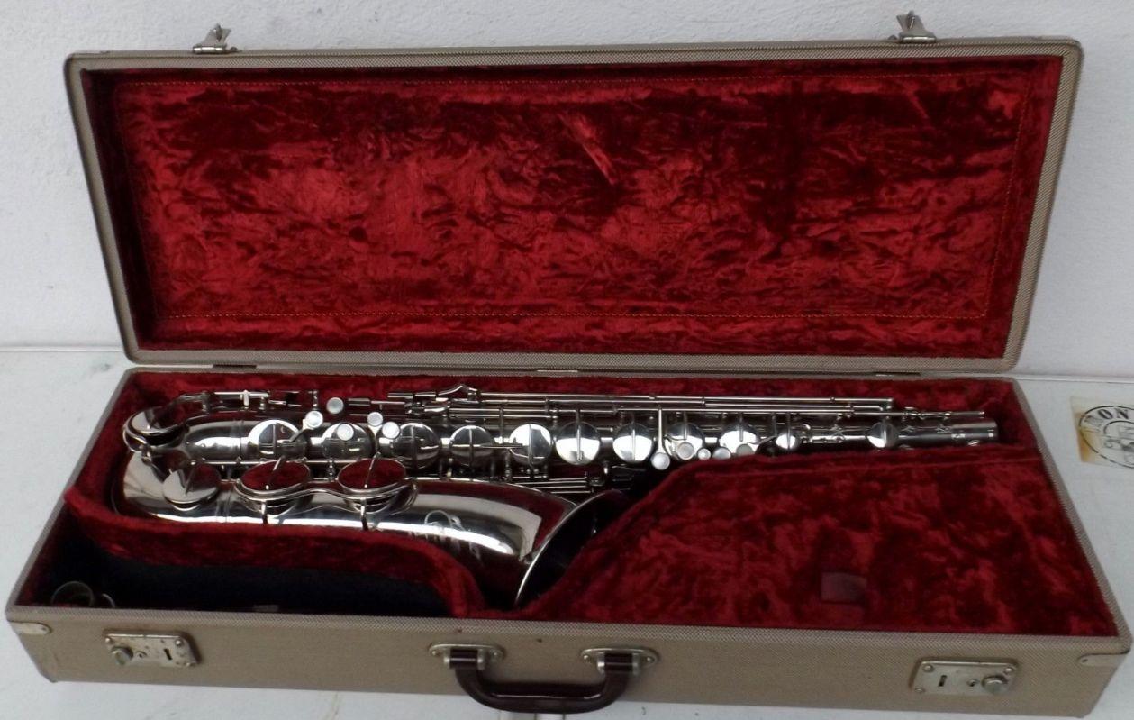 Hohner President, tenor sax, vintage sax, German sax, Max Keilwerth, saxophone, nickel-plated sax