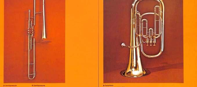 Bb Valve Trombone 178 & Bb Tenor Horn 160