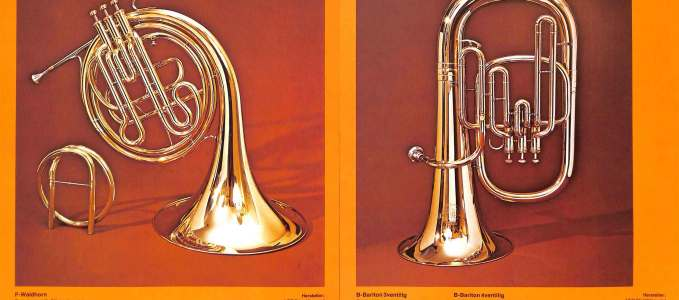 F/Eb French Horn 180 & Bb Baritone Horn 170