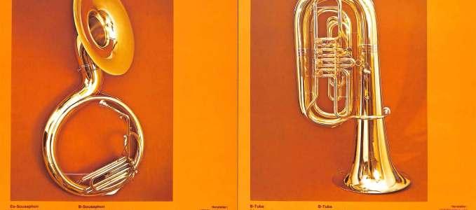 Bb Sousaphone 222 & Bb Tuba103