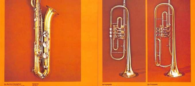 Bari 252,  Bb Trumpet 5 & Eb Trumpet 9