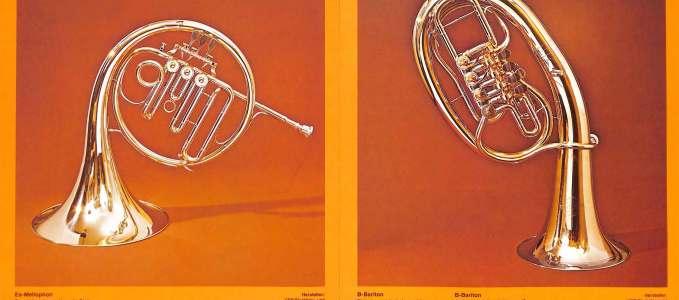 Eb Mellophone 23 & Bb Baritone horn 46