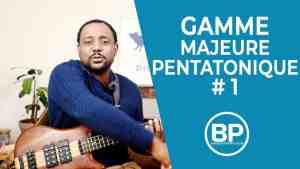 Gamme pentatonique majeure #1 – Playlist vidéo