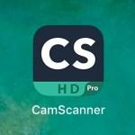 「Cam scanner」を使った便利な譜面管理