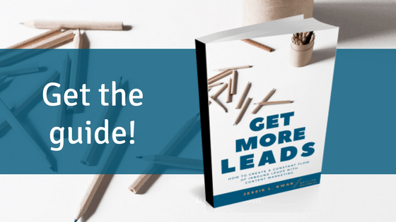 ad for get more leads ebook
