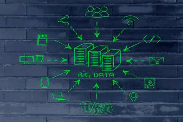 A graphic of big data
