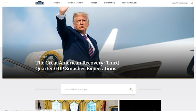 The White House Website