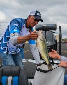 Morgan bagged up his record 61st Top 10 at Beaver Lake. Photo by Joel Shangle.