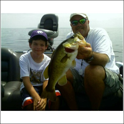Little 8yr old on Okeechobee