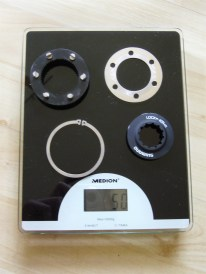 Shimano Centerlock Adapter