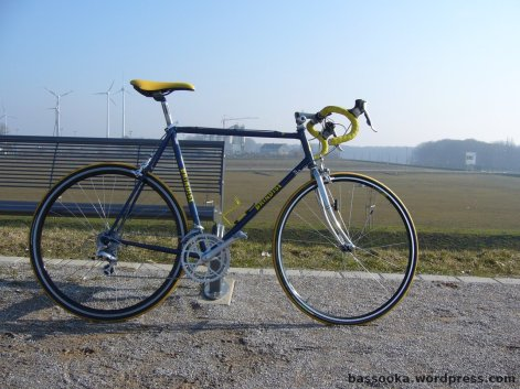 Mein Rennrad, vor dem Umbau
