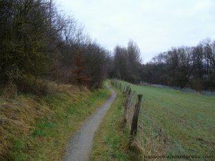 Ruhrtalradweg bei Bestwig