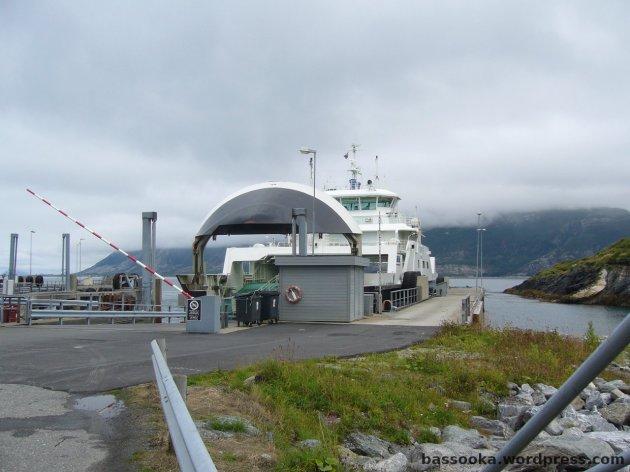 Eine der vielen Fähren